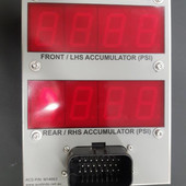 Accumulator Pressure Display